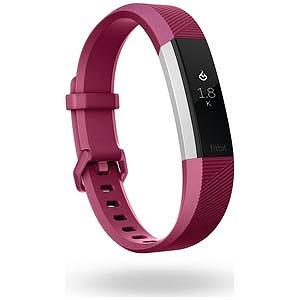 Fitbit ウェアラブル端末 心拍計+フィットネス リストバンド 「Alta HR」 Lサイズ FB408SPML-CJK Fucshia