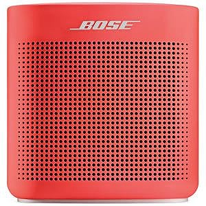 BOSE ブルートゥーススピーカー Bose SoundLink Color Bluetooth speaker II(レッド)