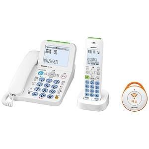 シャープ 【子機1台】デジタルコードレス電話機 JD-AT82CE(ホワイト系)