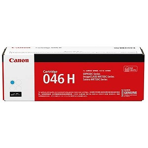 Canon 【純正】トナーカートリッジ046H C(シアン) CRG-046HCYN