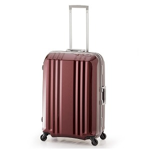 デカかる TSAロック搭載スーツケース デカかる2(64L) MM-5388 (ワイン)