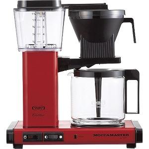 テクニホルム モカマスター コーヒーメーカー MM741AO-RD (レッド)