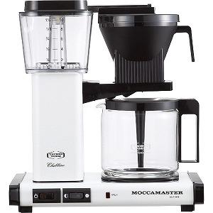 テクニホルム モカマスター コーヒーメーカー MM741AO-MW (メタリックホワイト)(送料無料)