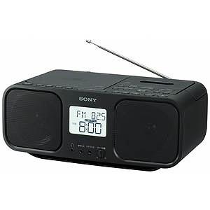 ソニー CDラジカセ CFD-S401 BC(ブラック)