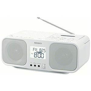 ソニー CDラジカセ CFD-S401 WC(ホワイト)(送料無料)