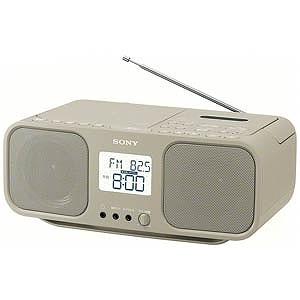 ソニー CDラジカセ CFD-S401 TIC(ベージュ)