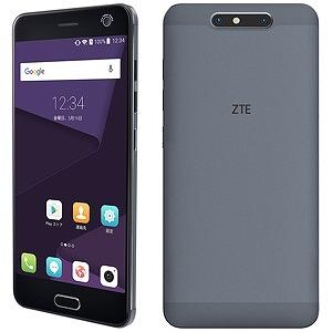 ZTE Android 7.0・5.2型・SIMフリースマートフォン Blade V8 ミッドナイトグレー 「BLADEV8MGY」(送料無料)