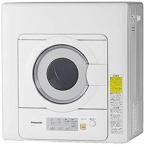 パナソニック 電気衣類乾燥機 (乾燥5.0kg) NH-D503-W ホワイト(標準設置無料)