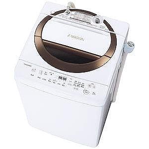 東芝 全自動洗濯機 (洗濯6.0kg) ZABOON AW-6D6-T ブラウン(標準設置無料)