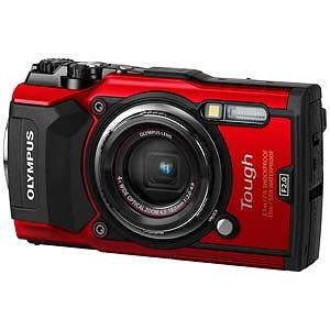 オリンパス コンパクトデジタルカメラ Tough(タフ) TG-5(レッド)(送料無料)