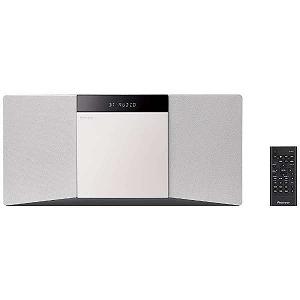 パイオニア CDミニコンポーネントシステム X-SMC02(W) (ホワイト)(送料無料)