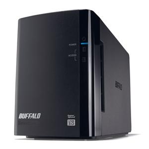 バッファロー 外付けHDD ブラック [据え置き型 /8TB] HD-WL8TU3/R1J