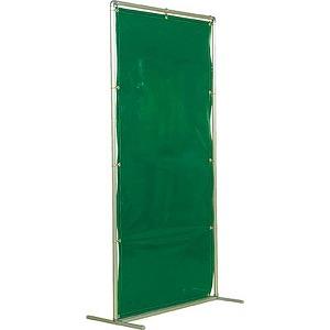 吉野 遮光フェンスアルミパイプ 2×2 単体固定 グリーン YS22SFG