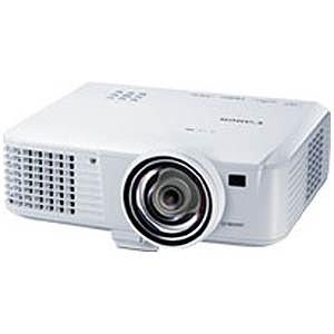 Canon データプロジェクター 単焦点モデル LV-WX310ST(送料無料)