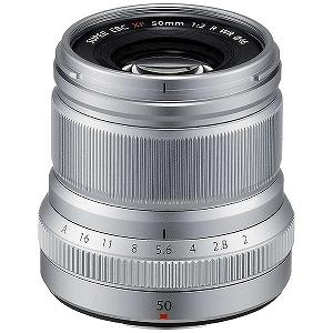 富士フィルム 交換レンズ FUJIFILM Xマウント XF50mmF2 R WR(シルバー)(送料無料)