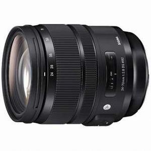 シグマ 一眼レフ用交換レンズ 24-70mm F2.8 DG HSM Art【キヤノンEFマウント】