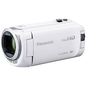 パナソニック SD対応 64GBメモリー内蔵フルハイビジョンビデオカメラ HC-W585M-W(ホワイト)(送料無料)