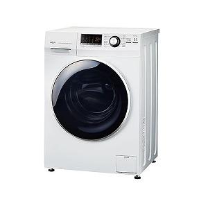 AQUA 全自動洗濯機(8.0kg・左開き) AQW-FV800E-W (ホワイト)(標準設置無料)