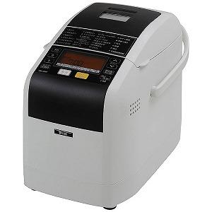 エムケー精工 ホームベーカリー 「ふっくらパン屋さん」(1.5斤) HBK-152W ホワイト