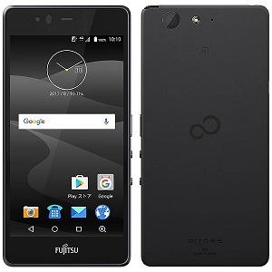 富士通 ARROWS M04 Android 7.1・5型SIMフリースマートフォン FARM06301 (ブラック)