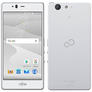 富士通 ARROWS M04 Android 7.1・5型SIMフリースマートフォン FARM06302 (ホワイト)