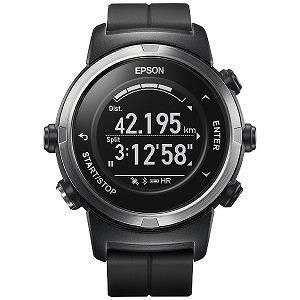 EPSON GPSランニングウオッチ 「WristableGPS」  J-350B ブラック(送料無料)