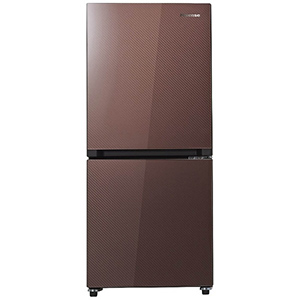 ハイセンス 2ドア冷蔵庫(134L・右開き) HR-G13A-BR ガラスブラウン(標準設置無料)
