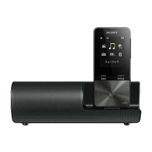 ソニー デジタルオーディオプレーヤー WALKMAN S310シリーズ (16GB) NW-S315K BC ブラック スピーカー付属【ワイドFM対応】(送料無料)