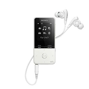 ソニー デジタルオーディオプレーヤー WALKMAN S310シリーズ (ホワイト/16GB) NW-S315 WC(送料無料)