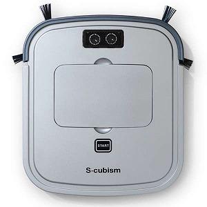 エスキュービズム 超薄型床用ロボット掃除機 SCC-R05SM(送料無料)