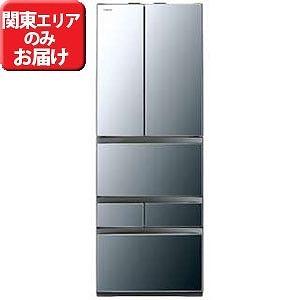 東芝 6ドア冷蔵庫 (462L・フレンチドア) GR-M460FWX-X ダイヤモンドミラー(標準設置無料)