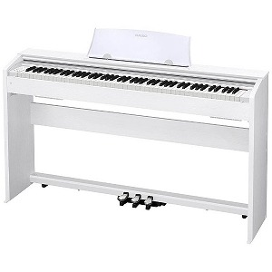 CASIO 電子ピアノ Privia(プリヴィア)(88鍵盤) PX-770WE (ホワイトウッド調)(標準設置無料)
