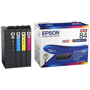 EPSON 「純正」インクカートリッジ IC4CL84(4色パック) (送料無料)