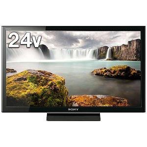 ソニー 24V型 ハイビジョン液晶テレビ BRAVIA(ブラビア) KJ-24W450E (別売USB HDD録画対応)(送料無料)
