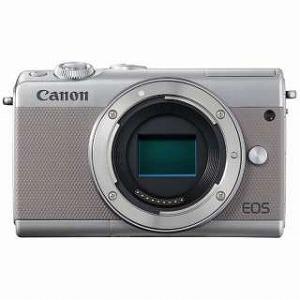 Canon ミラーレス一眼 EOS M100【ボディ(レンズ別売)】 (グレー/ミラーレス一眼カメラ)