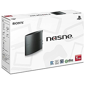 ソニー・コンピュータエンタテインメント PS4/PS3用 ネットワークレコーダー&メディアストレージ 「nasne(ナスネ)」1TB CUHJ-15004(送料無料)