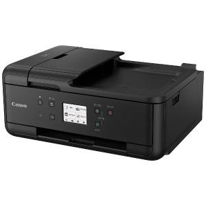 キヤノン CANON インクジェット複合機「PIXUS(ピクサス)」[カード・名刺~A4対応/USB2.0/無線LAN/FAX・ADF搭載] PIXUSTR7530