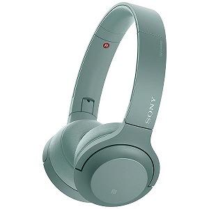 ソニー 「ハイレゾ音源対応」ブルートゥースヘッドホン WH-H800 GM