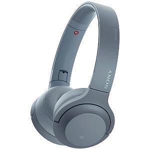 ソニー 「ハイレゾ音源対応」ブルートゥースヘッドホン WH-H800 LM
