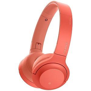 ソニー 「ハイレゾ音源対応」ブルートゥースヘッドホン WH-H800 RM