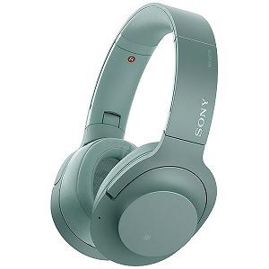 ソニー SONY 「ハイレゾ音源対応」ブルートゥースヘッドホン[ノイズキャンセリング] WH-H900N グリーン