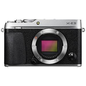 富士フィルム ミラーレス一眼カメラ ボディ(レンズ別売) FUJIFILM X-E3(シルバー)(送料無料)
