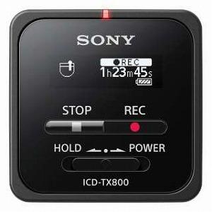 ソニー リニアPCMレコーダー 【16GB】 (ブラック) ICD-TX800 BC