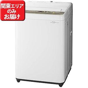 パナソニック 全自動洗濯機 (洗濯6.0kg) NA-F60B11(N) シャンパン(標準設置無料)