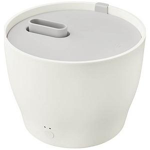 プラマイゼロ スチーム式加湿器 (~10畳) XQK-Z210-W ホワイト