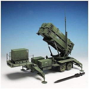 プラッツ 1/35 MIM-104F ◆パトリオット(ペトリオット) SAM PAC-3 M901発射機