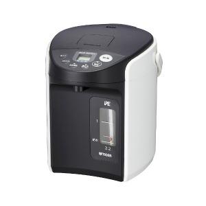 タイガー TIGER 電気ポット 「とく子さん」 [2.2L/電動式/まほうびん保温] PIQ-A220-W