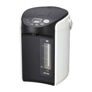 タイガー 電動給湯式電気ポット (3.0L)  PIQ-A300-W