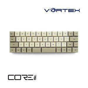 有線キーボード[USB・Win] VORTEX CORE 茶軸 (英語配列・47キー) VTG47BRNBEG