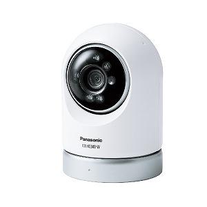 パナソニック ホームネットワークシステム「スマ@ホーム システム」 屋内スイングカメラ KX-HC600-W(送料無料)
